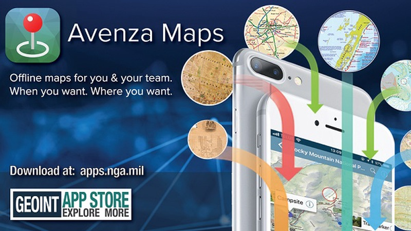 Avenza Maps iOS App Launches In The GEOINT App Store