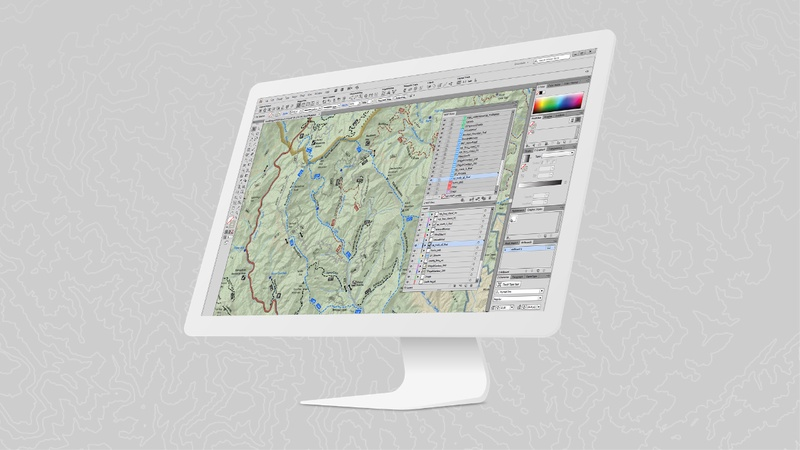 The Best of Both Worlds - Map-making and GIS Functionalities
