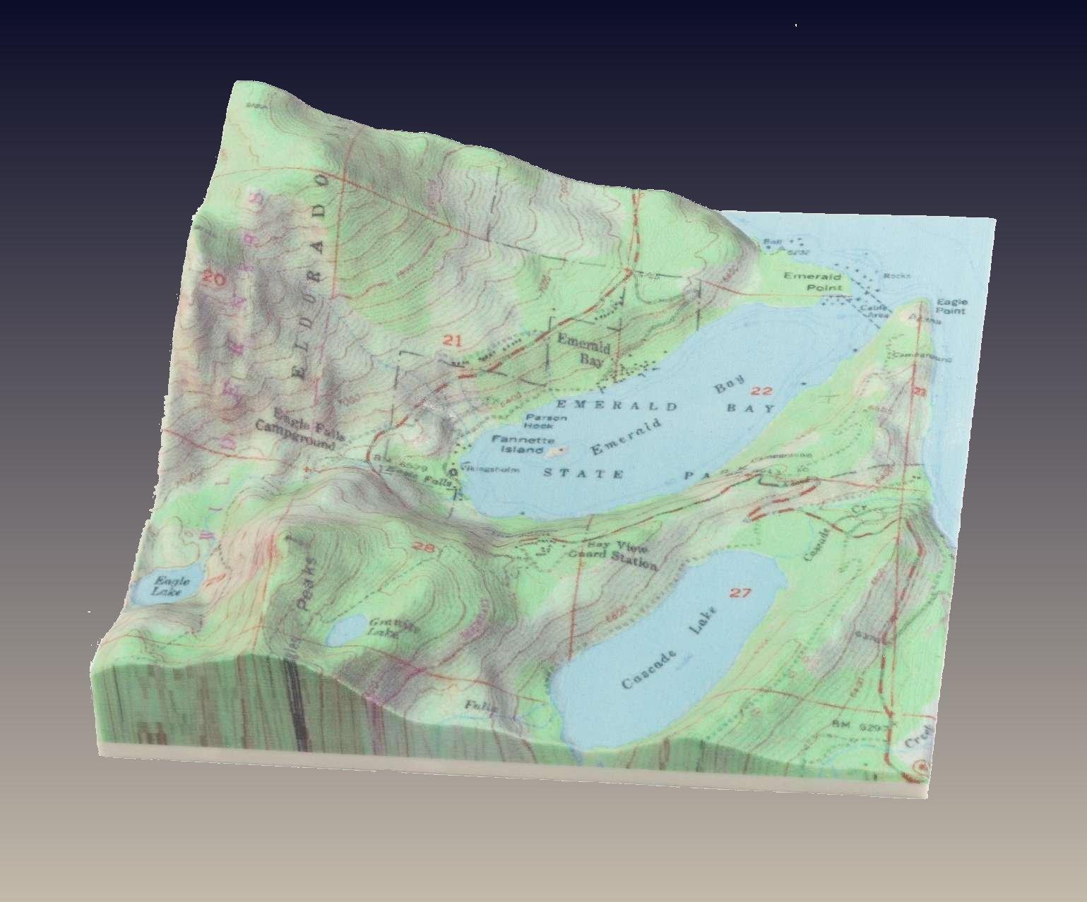 Topo Map Image