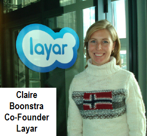 Claire Boonstra, Layar