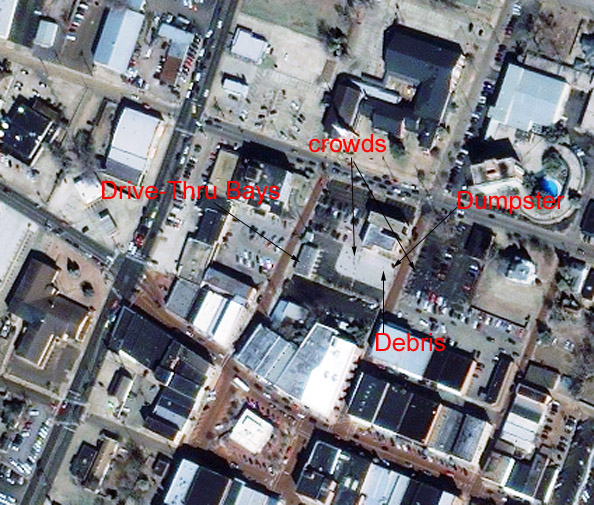 Special Report Satellite Imagery Of Shuttle Debris Area