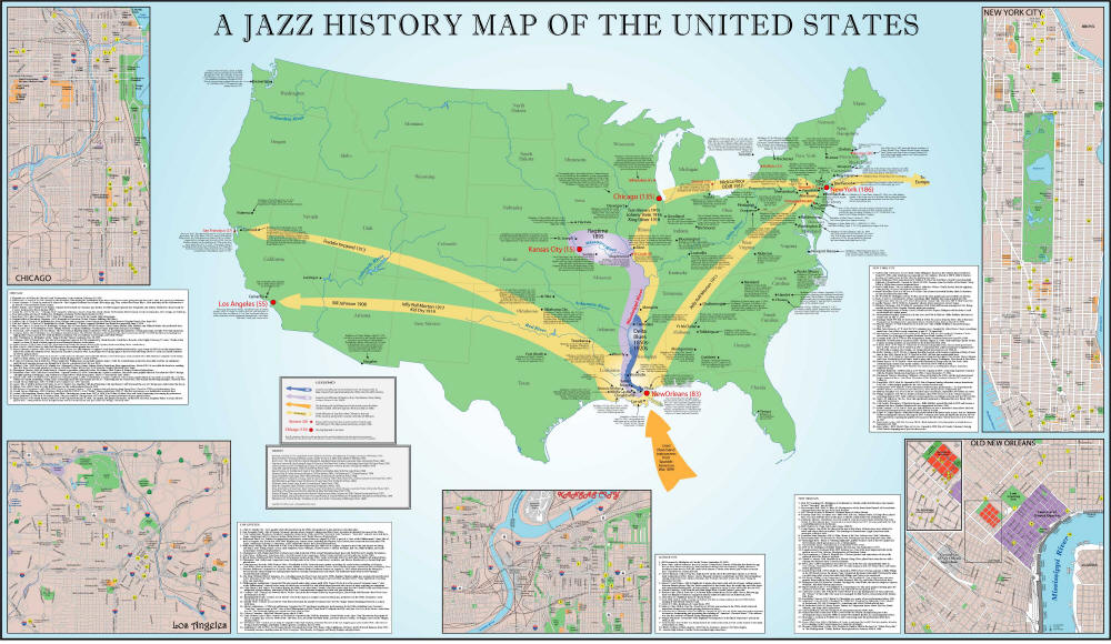 the spread of jazz and the Jazz history final exam a dixieland soloist on clarinet and soprano saxophone, known as armstrong's equal as a soloist - helped spread jazz to europe (a.