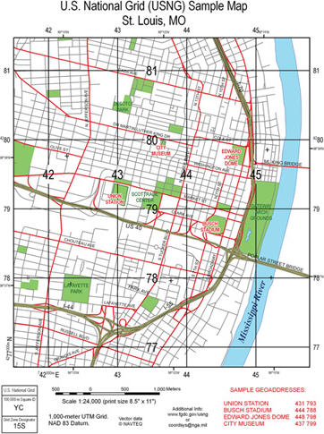U.S. National Grid Simplifies Mapping