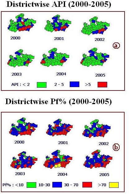 malaria articles pdf in states of india