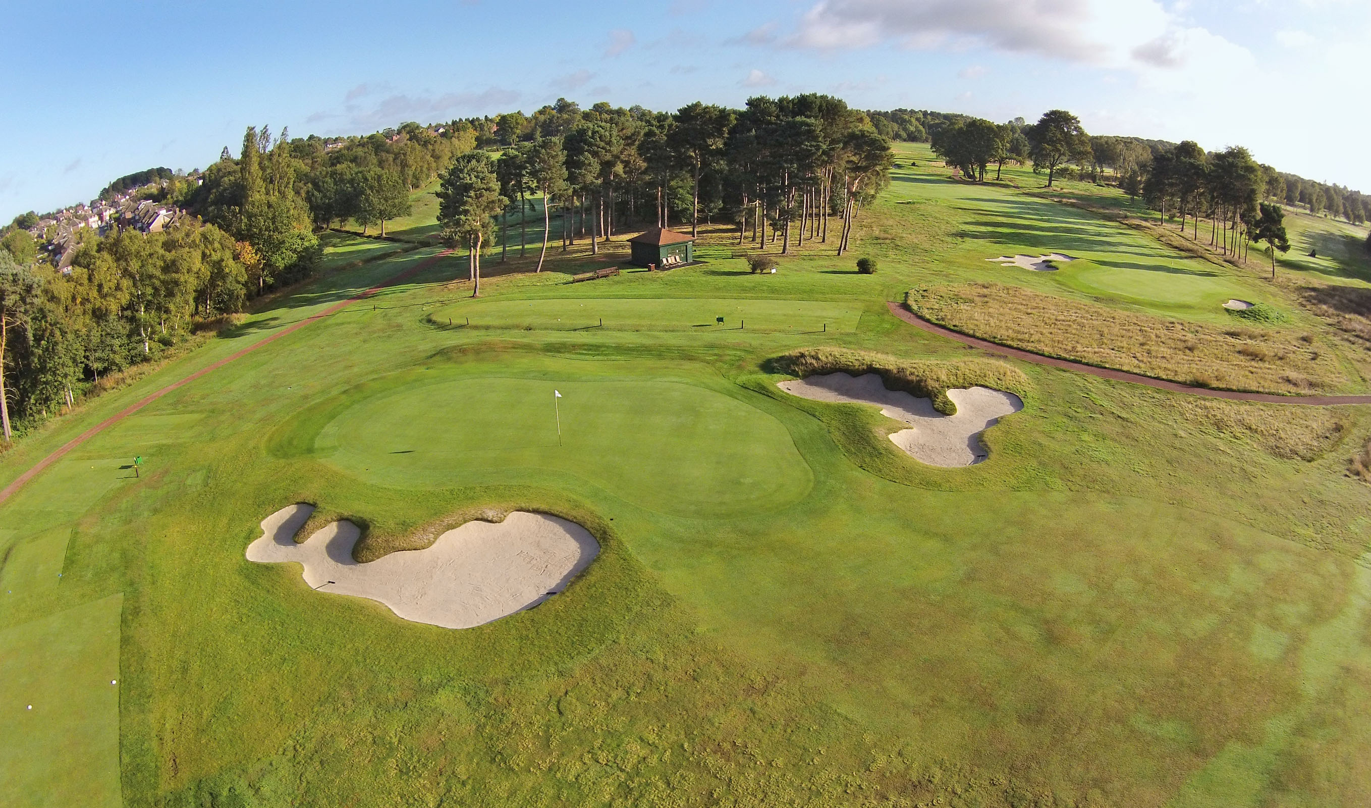 Blueskys Aerial Laser Maps Drive Creative Golf Course Design - High resolution aerial maps
