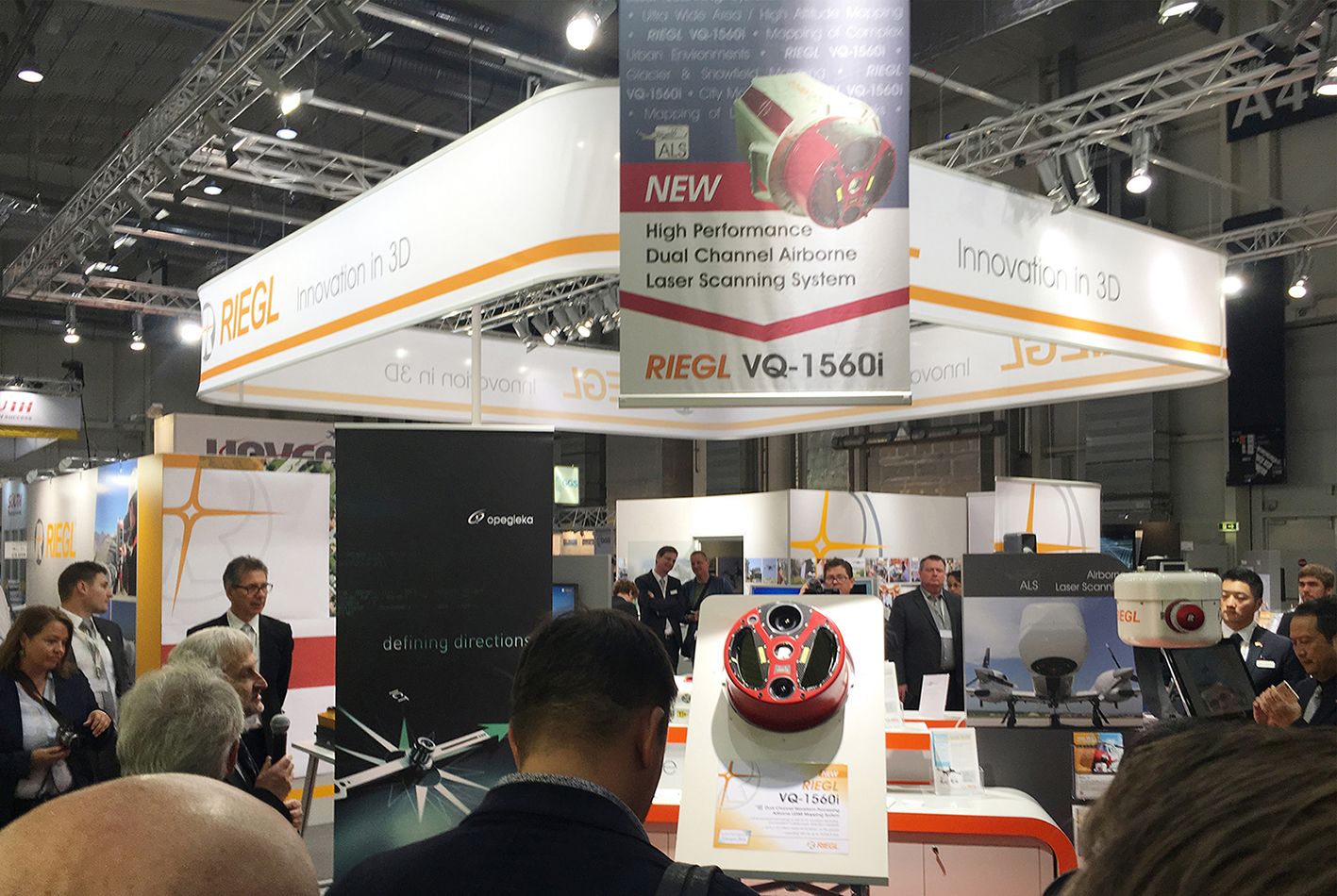 RIEGL Debuted the New miniVUX-1UAV and the New VQ-1560i at